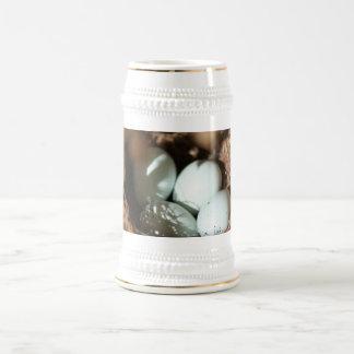 Bird Eggs Nest Beer Stein