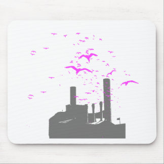 Bird Factory T-shirt / Earth Day T-shirt Mouse Pads