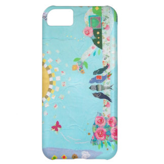 Bird Family Art Collage iPhone 5C Covers