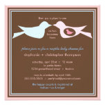 Bird Family Couples Baby Shower Invitations