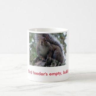 Bird Feeder's Empty Mug
