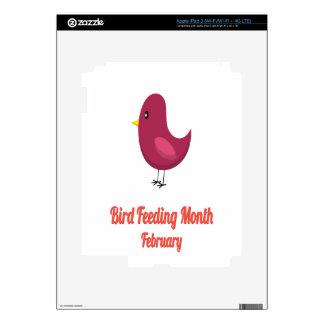 Bird-Feeding Month - Appreciation Day iPad 3 Decal