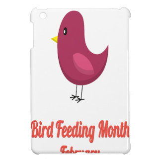 Bird-Feeding Month - Appreciation Day iPad Mini Cover
