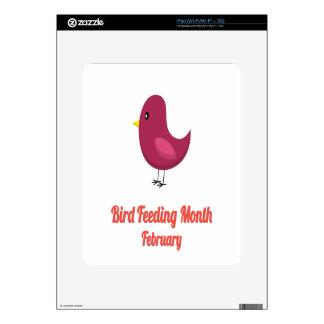 Bird-Feeding Month - Appreciation Day iPad Skin