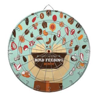 Bird-Feeding Month February - Appreciation Day Dartboards