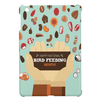 Bird-Feeding Month February - Appreciation Day iPad Mini Cover