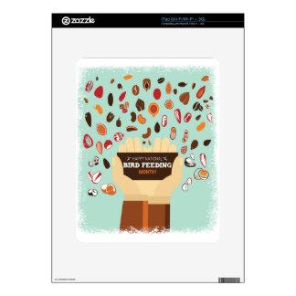 Bird-Feeding Month February - Appreciation Day Skins For The iPad