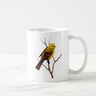 Bird: Female Western Tanager: Original Art Coffee Mug