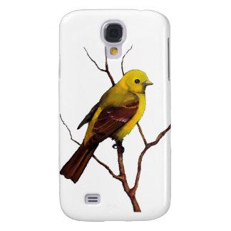 Bird: Female Western Tanager: Original Art Samsung Galaxy S4 Case