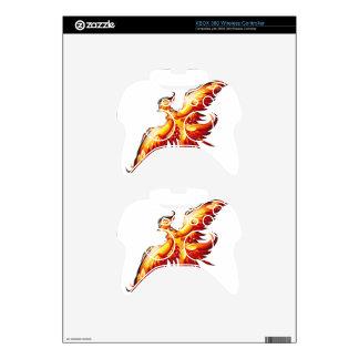 Bird fire Phoenix  3 Xbox 360 Controller Skin