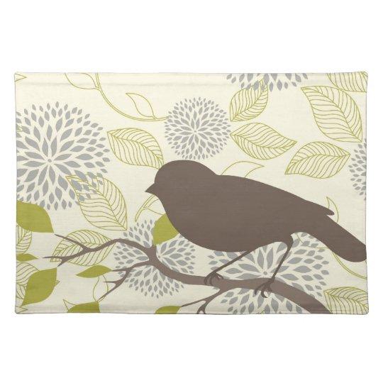 Bird & Flower Placemat