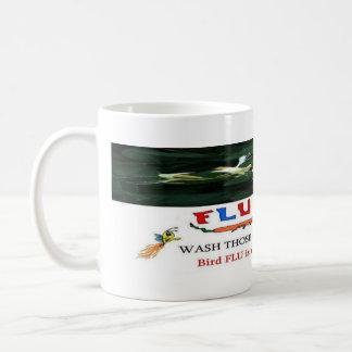 Bird Flu Warning Coffee Mugs