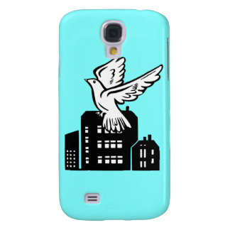 Bird flying by factory samsung galaxy s4 case