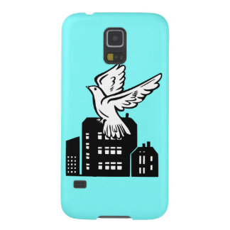 Bird flying by factory galaxy s5 cover