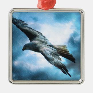 Bird Flying Metal Ornament