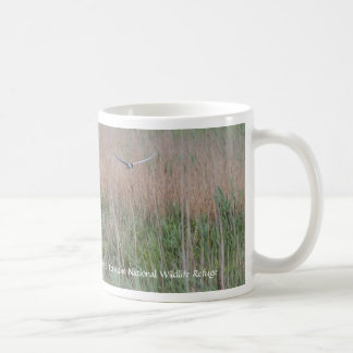Bird Flying Over The Refuge Coffee Mug