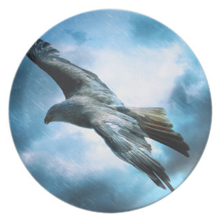 Bird Flying Party Plates