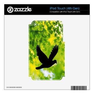 bird flying to freedom peace joy iPod touch 4G skin