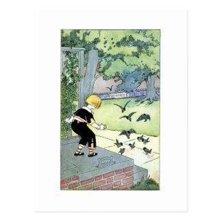 Bird friends postcard