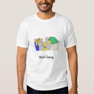 bird_gangster_interrogation, Bird Gang Tee Shirt
