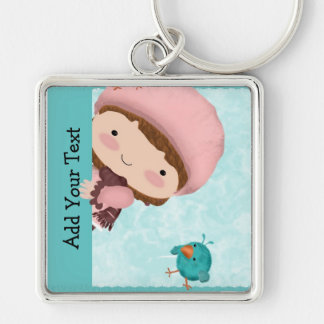 Bird Girl Key-chain Key Chains