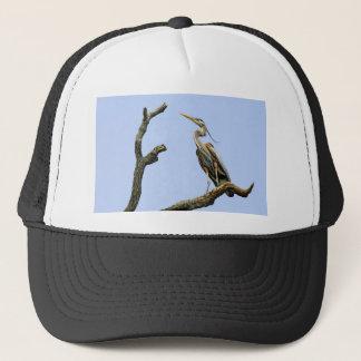 Bird Great Blue Heron Ball Cap