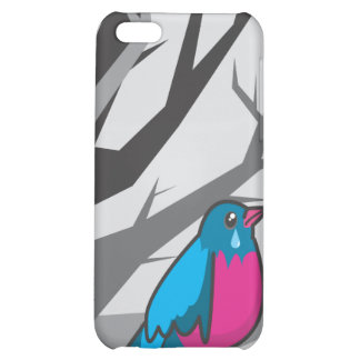 bird_grey cover for iPhone 5C