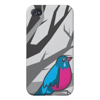 bird_grey iPhone 4 cover