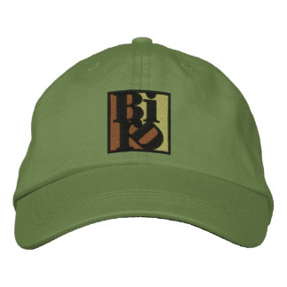 BIRD Hat (non-distressed) Embroidered Baseball Cap