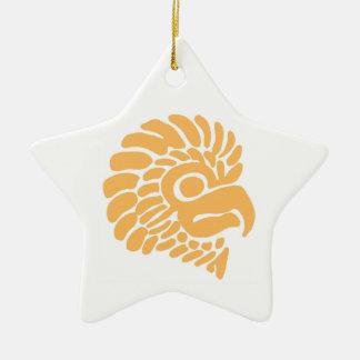 Bird Head Seal Ceramic Ornament
