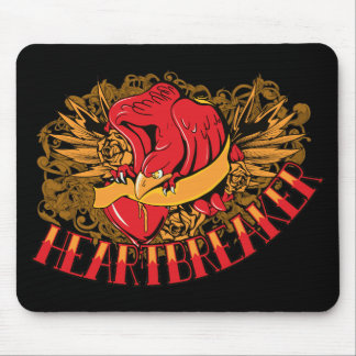 Bird ~ Heart Breaker Customize Gift Template Mouse Pad