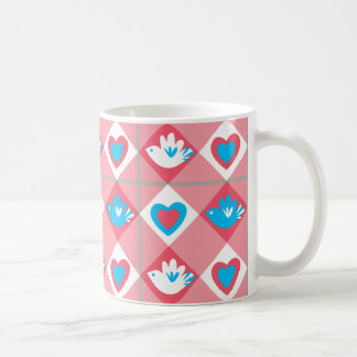 Bird & Heart Coffee Mug