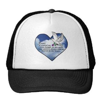 Bird Heart Poem Hat