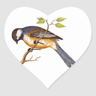 BIRD HEART STICKER
