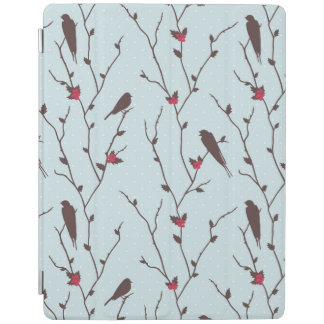 Bird Holiday Pattern iPad Smart Cover