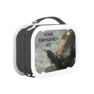 Bird Home Emergency Kit Lunch Box