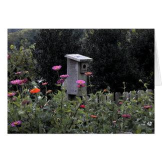Bird House 2 Note Card