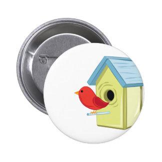 Bird House Button
