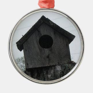 Bird house Christmass tree ornament