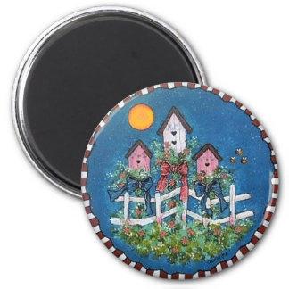 Bird House Condo Magnet