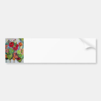 Bird House Cottage Garden Bumper Sticker