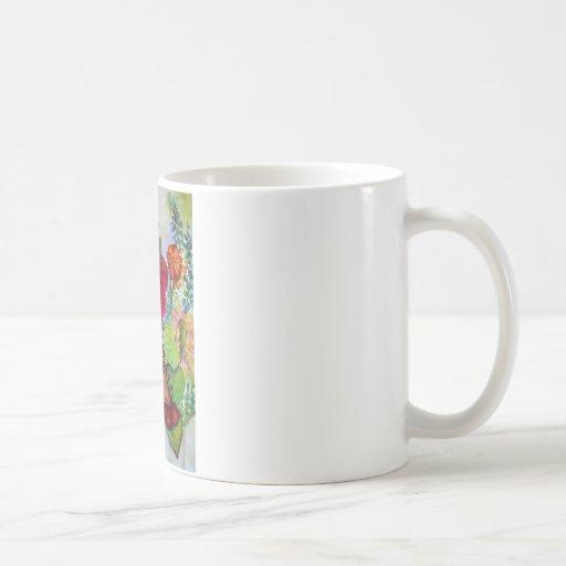 Bird House Cottage Garden Coffee Mug