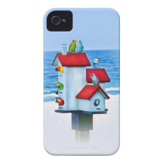 Bird House Full of Birds iPhone 4 Case Mate Case