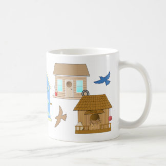 BIRD HOUSE MUG Cup