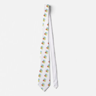 Bird House Neck Tie
