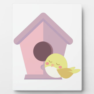 Bird House Plaque