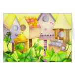 Bird Houses: Congratulations on New Home Greeting Card