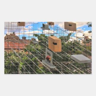 Bird Houses / Feeders in High Line Park 01 Sticker
