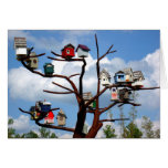Bird Houses Stationery Note Card