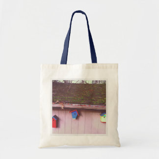 Bird Houses Tote